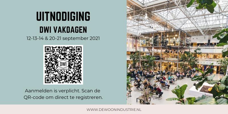 Uitnodiging met QR code najaar 2021